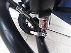 Трехколесный велосипед с родительской ручкой. Надувные колеса. Спинка откидывается., фото 5