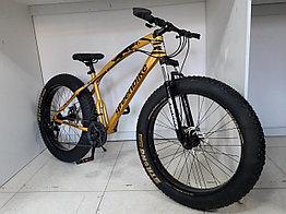 Велосипед Фэтбайк GreenBike. Толстые колеса. Fatbike