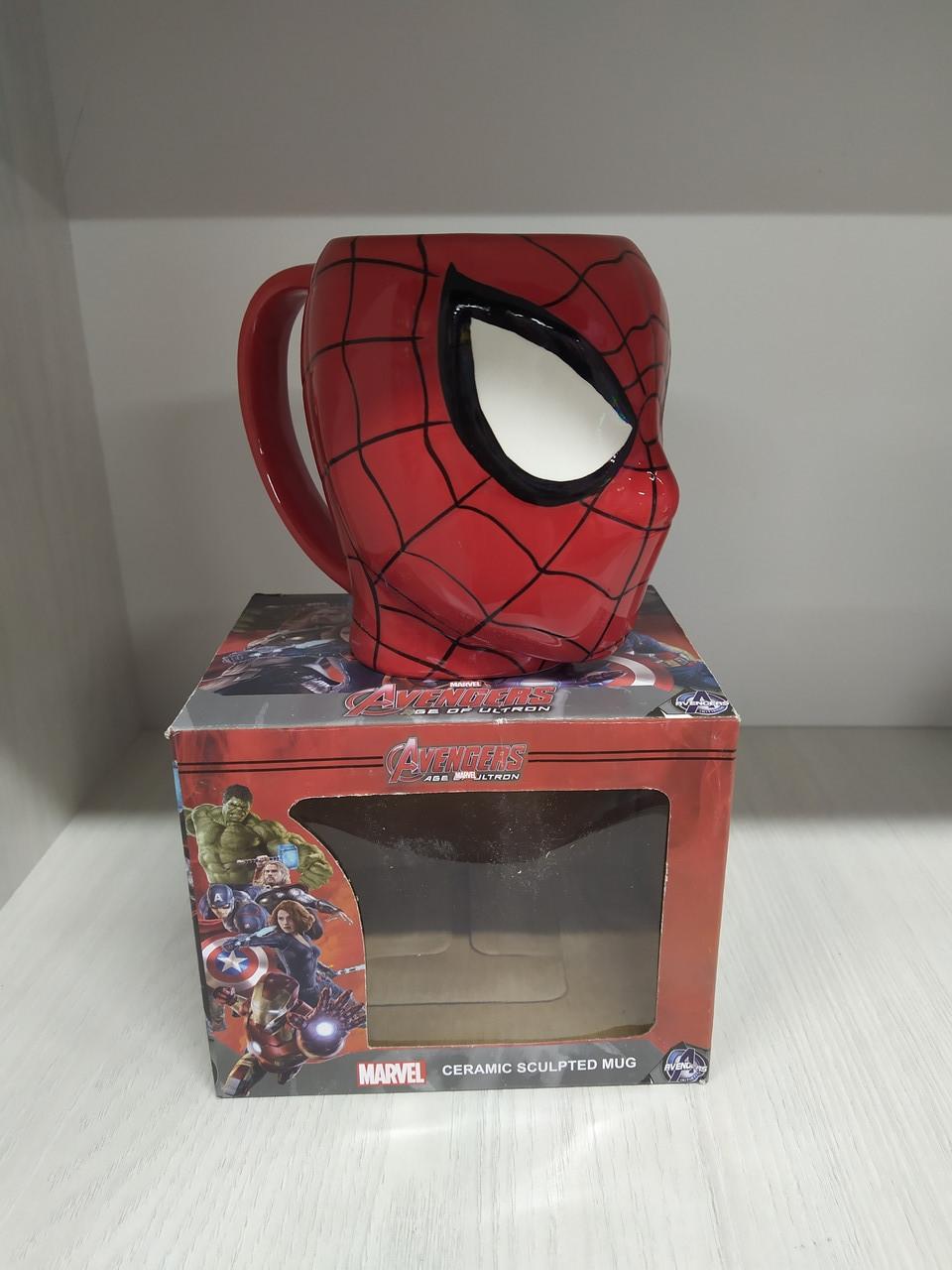 Кружка человек паук