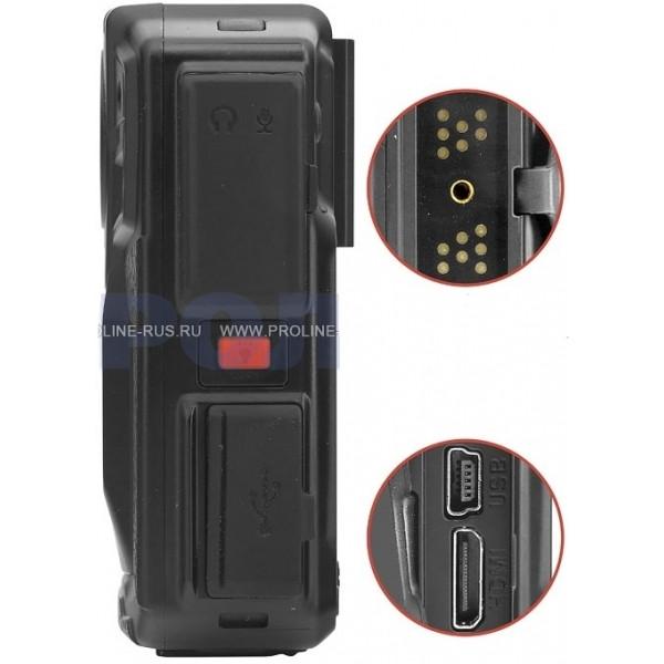 Носимый видеорегистратор Proline PR-PVR07AG для полиции