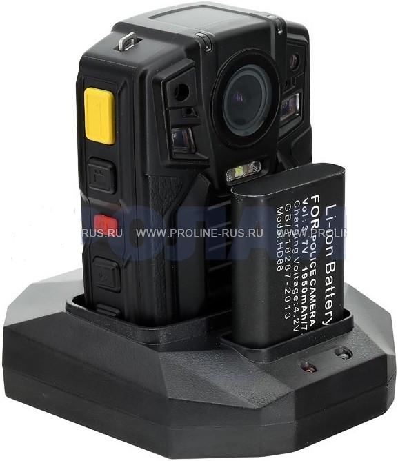 Носимый видеорегистратор Proline PR-PVR07AB-64 Гб для полиции с GPS