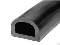 """Уплотнитель ТТ 50 м, профиль """"D"""" D21*15мм, черный, фото 2"""
