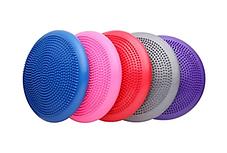 Балансировочная массажная подушка (цвет фиолетовый), фото 2