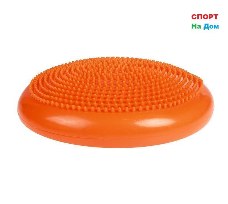Балансировочная массажная подушка (цвет оранжевый)