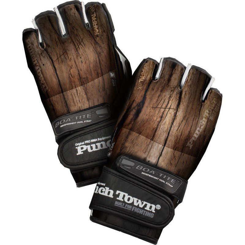 Перчатки MMA PunchTown Karpal eX TAT2 MKII Curved