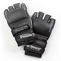 Перчатки MMA PunchTown Karpal eX TAT2 MKII Carbon, фото 1