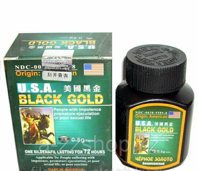 Черное Золото для потенции