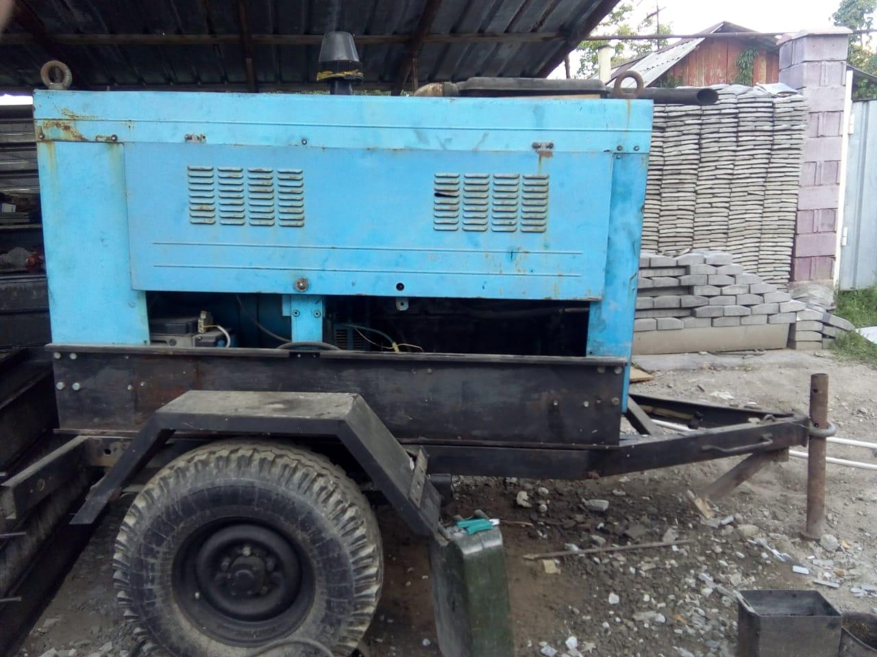 САГ-сварочный агрегат