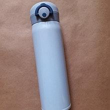 Металлическая термо бутылка для воды и чая