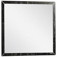 Зеркало Феличе 80 Черный с серебром Домино