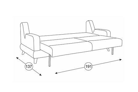 Комплект мягкой мебели Стивен, Бежевый, Нижегородмебель и К(Россия), фото 2
