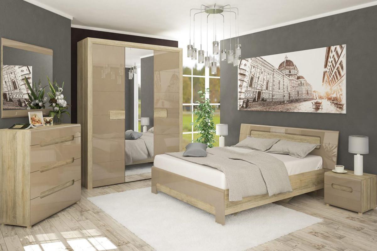 Комплект мебели для спальни Флоренс, Капучино, MEBEL SERVICE(Украина)