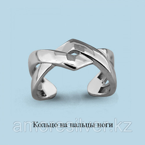 Кольцо из серебра  Aquamarine 57020,5