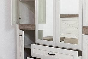 Шкаф для одежды 6Д  Марсель, Ясень Снежный, БРВ Брест (Беларусь), фото 3