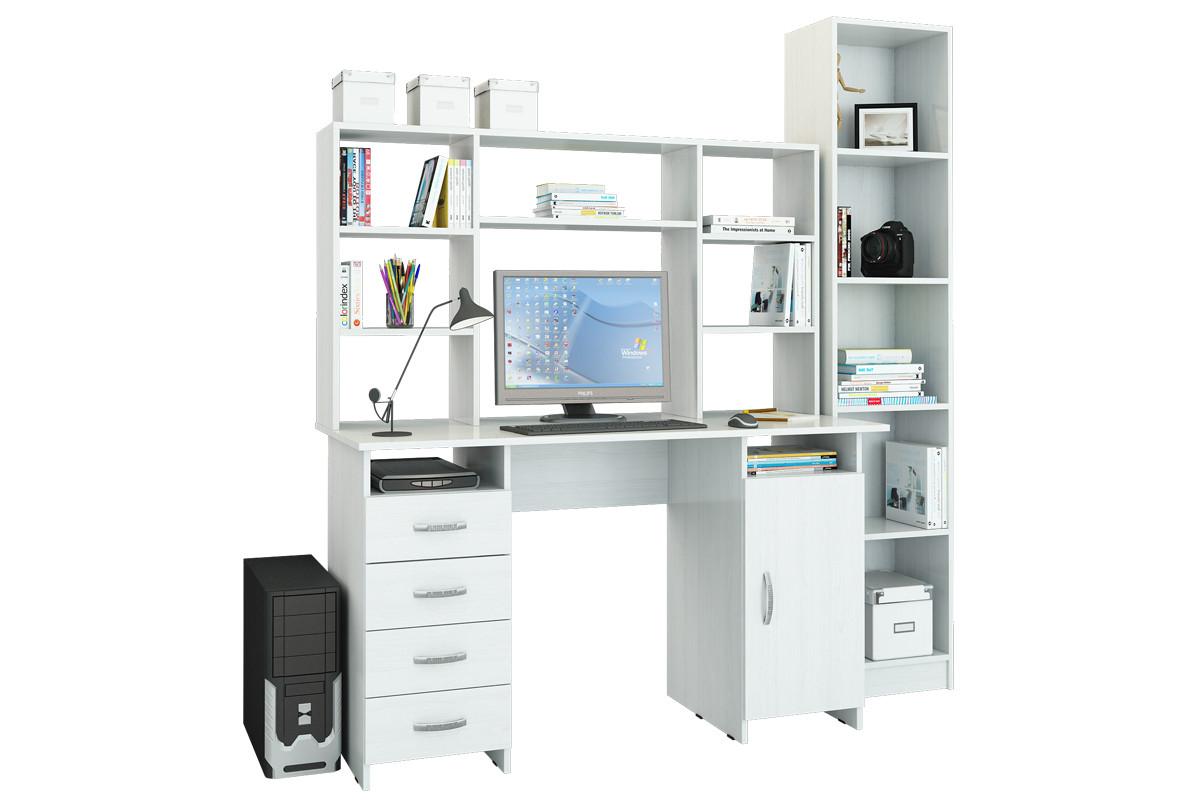 Комплект мебели для детской УШ-17, Белый Белый, МФ Мастер(Россия)