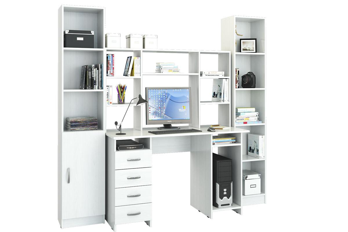 Комплект мебели для детской УШ-6, Белый Белый, МФ Мастер(Россия)