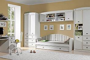 Шкаф для книг навесной 2Д , коллекции Салерно, Белый Белый, БРВ Брест (Беларусь), фото 2