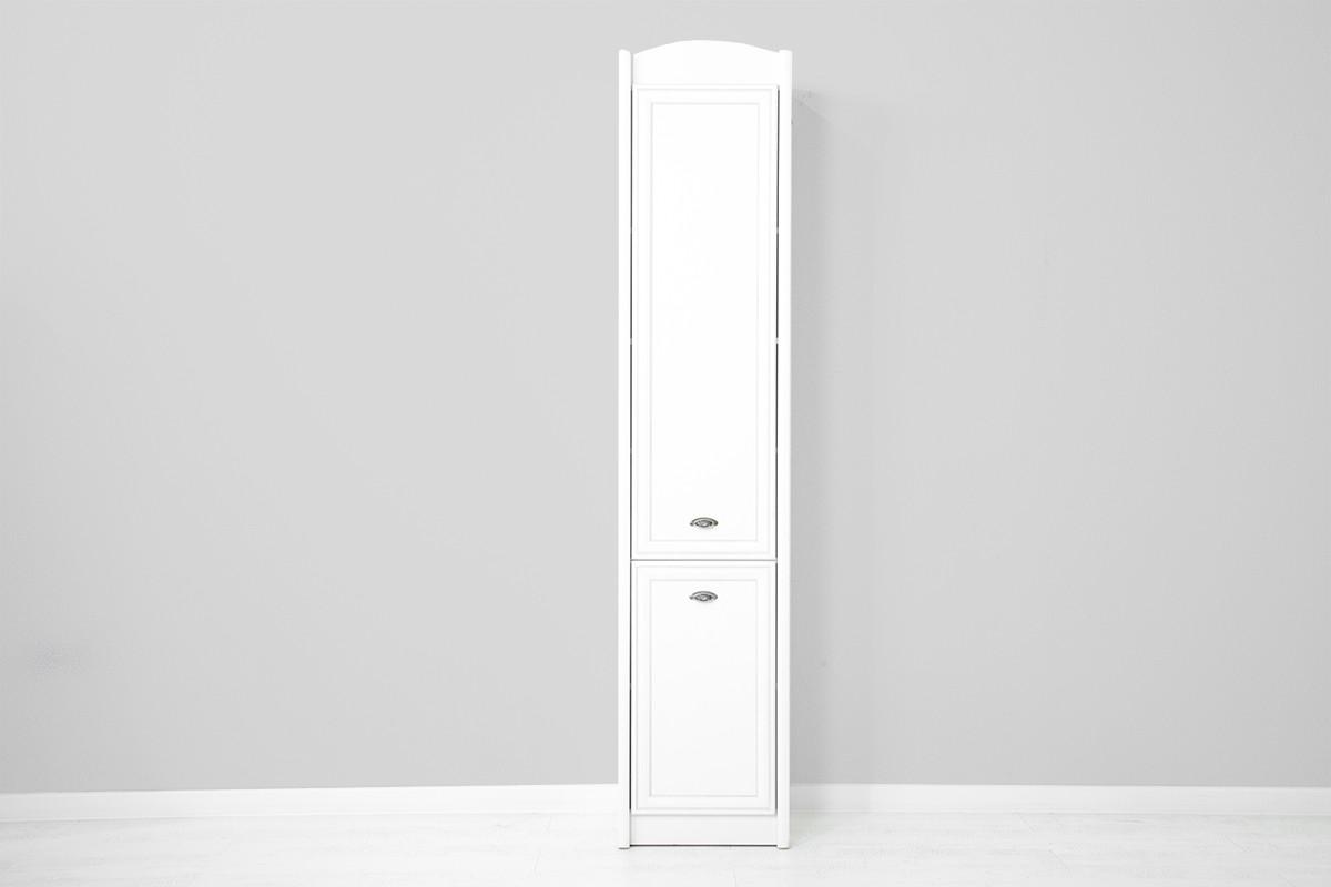 Шкаф пенал 2Д , коллекции Салерно, Белый, БРВ Брест (Беларусь)