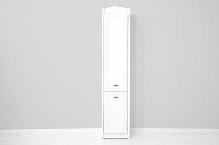 Шкаф пенал 2Д , коллекции Салерно, Белый, БРВ Брест (Беларусь), фото 2