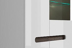 Шкаф витрина 2Д , коллекции Ацтека, Белый Блеск, БРВ Брест (Беларусь), фото 3
