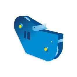 Блок роликовый БР-10 (для лебедки)