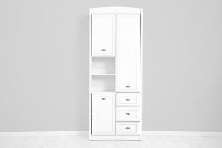 Шкаф для одежды 3Д , коллекции Салерно, Белый Белый, БРВ Брест (Беларусь), фото 2