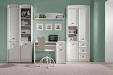 Шкаф витрина 1Д , коллекции Салерно, Белый Белый, БРВ Брест (Беларусь), фото 3