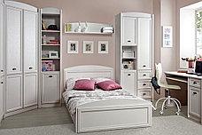 Кровать односпальная, коллекции Салерно, Белый Белый, БРВ Брест (Беларусь), фото 3