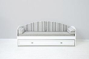 Кровать односпальная, коллекции Салерно, Белый Белый, БРВ Брест (Беларусь), фото 2