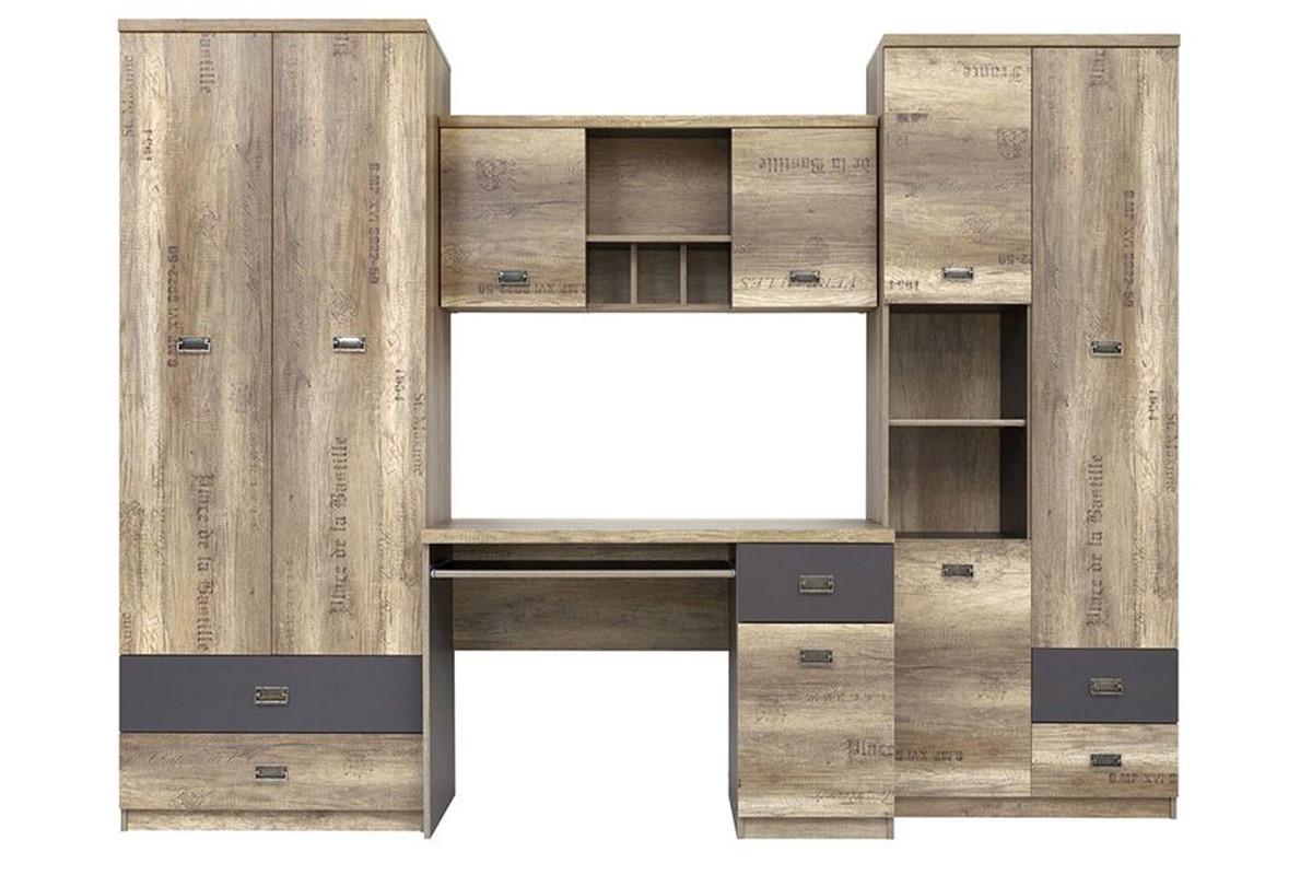 Комплект мебели для детской Малкольм, Дуб Дуб каньон, БРВ Брест (Беларусь)