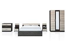 Комплект мебели для спальни Уют 1, Дуб Санома, Горизонт(Россия), фото 2