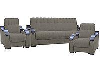 Комплект мягкой мебели Рио 4, Коричневый, АСМ(Россия)