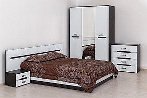 Шкаф для одежды 3Д , коллекции Вегас, Белый, Горизонт (Россия), фото 2
