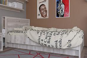 Кровать двуспальная Джаз, Каштан найбори Светлый, Анрэкс (Беларусь), фото 2