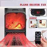 Портативный обогреватель Flame Heater  с имитацией камина., фото 3