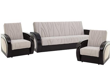 Комплект мягкой мебели Сиеста 2, Бежевый, АСМ(Россия), фото 2