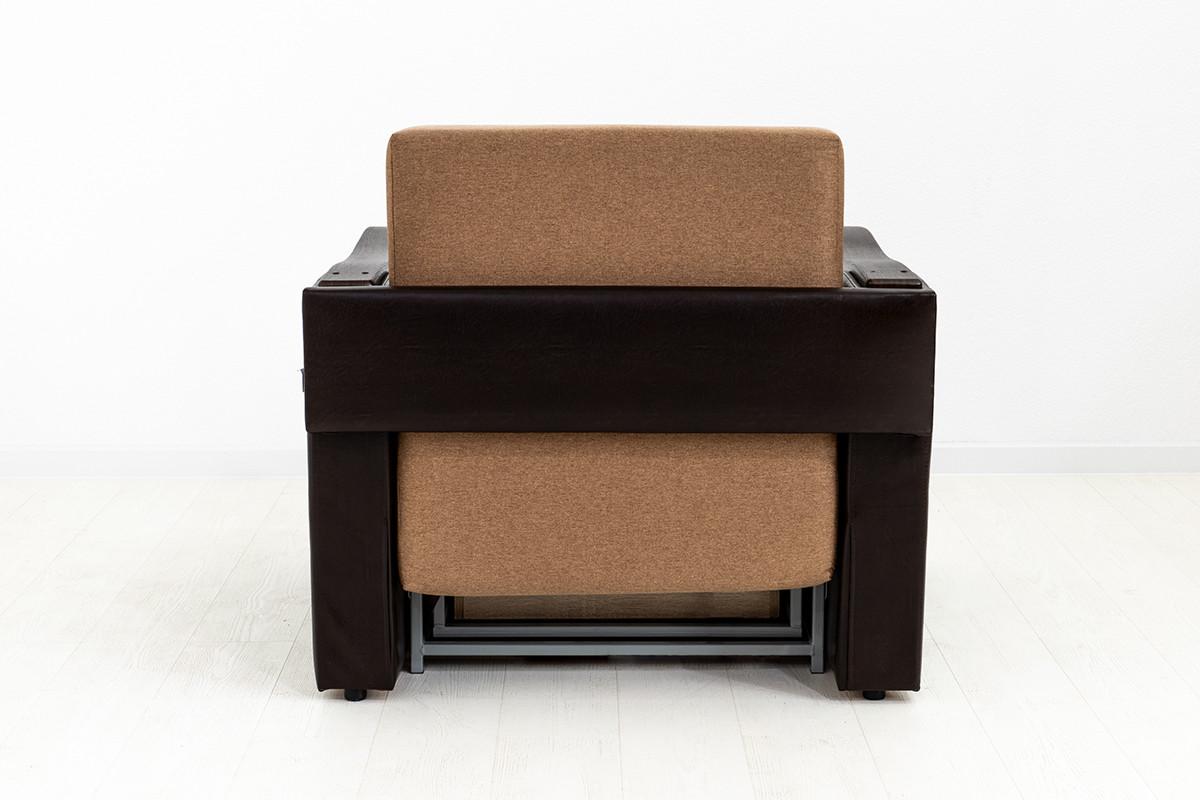 Кресло-кровать раскладной Аквамарин 7, ОК06/КупонАфрикаЛьвы/MOBI11, АСМ (Россия) - фото 5