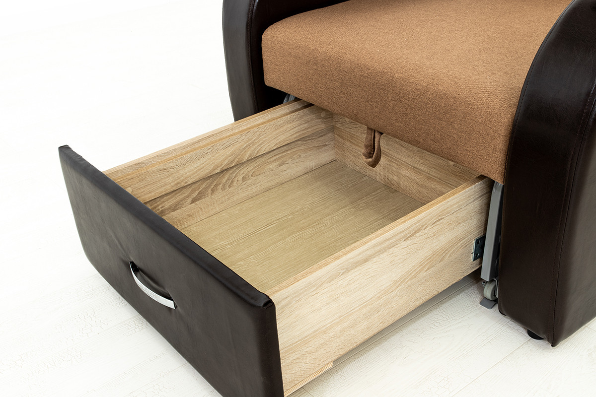 Кресло-кровать раскладной Аквамарин 7, ОК06/КупонАфрикаЛьвы/MOBI11, АСМ (Россия) - фото 6
