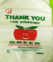 """Пакеты маечки """"Green яблочки"""""""