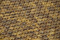 Декоративные панели 3D VERGE Buble, Мед, 3000х1000 мм Казахстан
