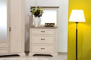 Монако - Комплект для спальни 2215, 4D, Сосна винтаж/Дуб анкона, Анрэкс, фото 2