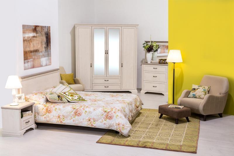 Монако - Комплект для спальни 2215, 4D, Сосна винтаж/Дуб анкона, Анрэкс