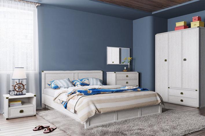 Магеллан - Комплект для спальни, 3D, Cосна винтаж, Анрэкс, фото 2