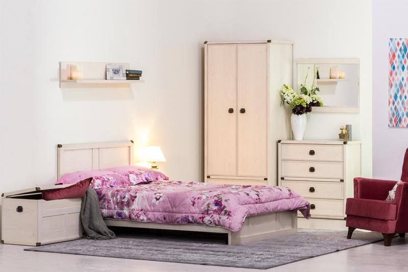 Магеллан - Комплект для спальни 4025, Cосна винтаж, Анрэкс