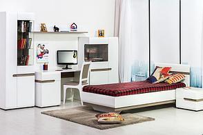 Линате - Комплект для детской 5475, белый/дуб трюфель, Анрэкс, фото 2