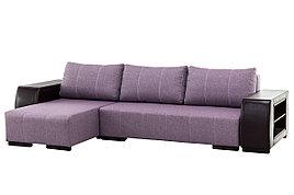 Диван угловой раскладной Дамаск NEW, Magic(ПТК)Purple/Экотекс 213, Мебельный Формат (Россия)