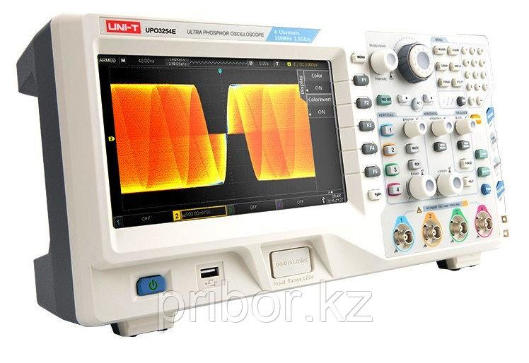 Осциллограф с технологией цифрового люминофора (DPO) 250 МГц, 4-х канальный UNI-T UPO3254E