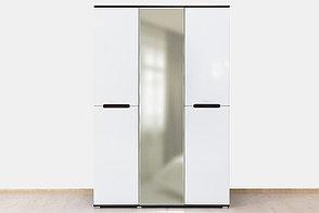 Шкаф для одежды 3Д , коллекции Вегас, Белый Белый, Горизонт (Россия), фото 2