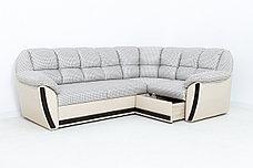 Комплект мягкой мебели Элегант, Бежевый/Коричневый, АСМ(Россия), фото 3