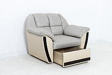 Кресло традиционное как часть комплекта Блистер, Skiff101/Ecotex109, АСМ Элегант (Россия), фото 3